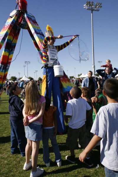 Stiltwalker in Surprise Arizona