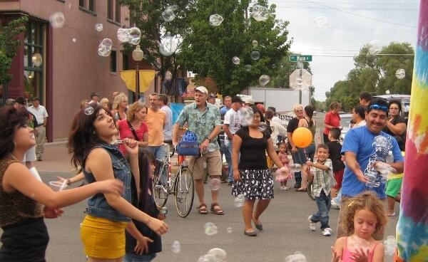 We want bubbles!