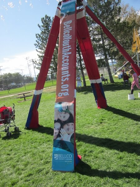 Bellco sponsors the  Bubble Tower