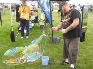 Big boys and bubbles!