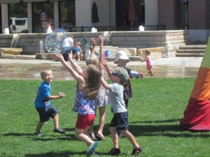 Come chase the bubbles!