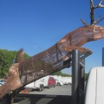 Northern Lights Steel Sculptures by Curtis Wiesz at ARTsarben