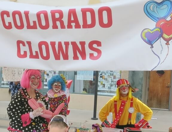 Colorado Clowns provided face painting and balloon twisting services as well as strolling entertainment for the Denver Five Points Jazz Festival.