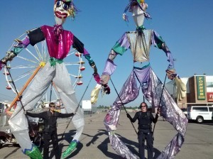 Giant Parade Puppets at the Nebraska State Fair