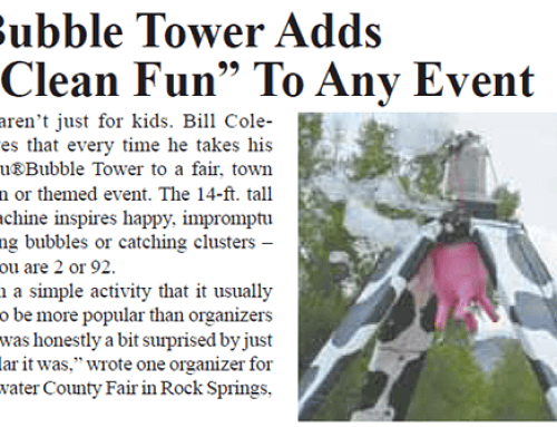 Cow Bubble Tower in the News
