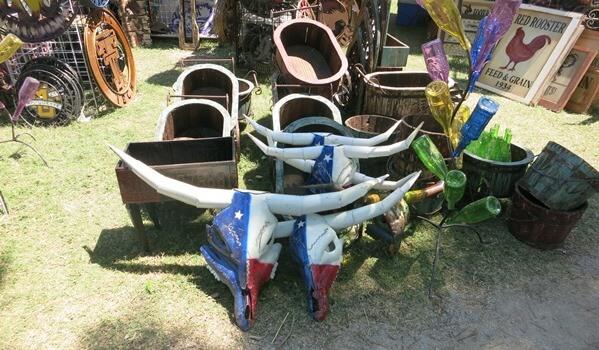 Mayfest yard art